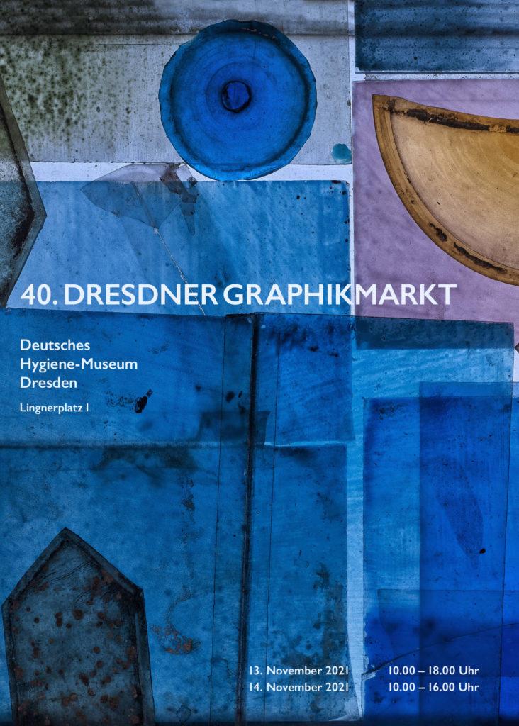 Plakatentwürfe zum 40.Dresdner Grafikmarkt